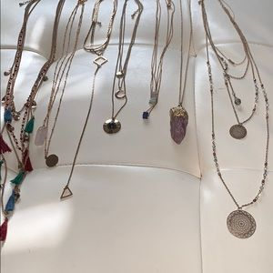 $5 Each or $25 Gold Necklace Collection